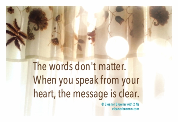 eleanor brownn message